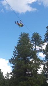 Flying High on Xtreme Zip Line