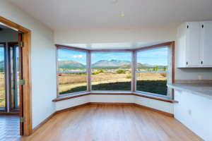 The view from your kitchen window at this Flagstaff home for sale.