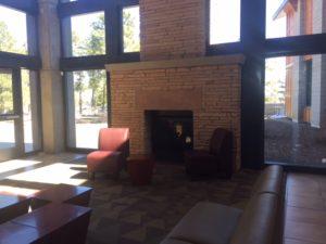 Aquaplex Fireplace & Sitting Areas